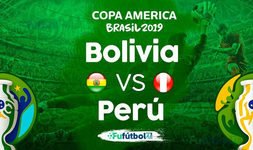 Bolivia vs Perú en VIVO