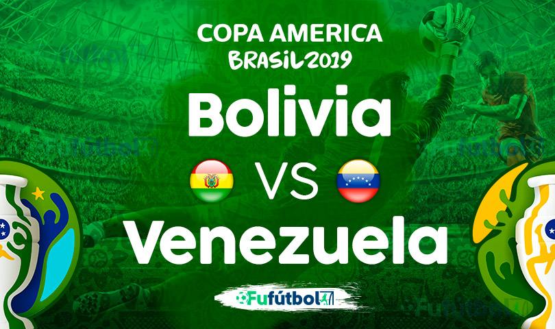 Bolivia vs Venezuela en VIVO Copa América
