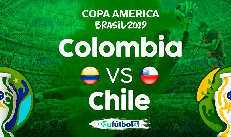 Colombia vs Chile en VIVO