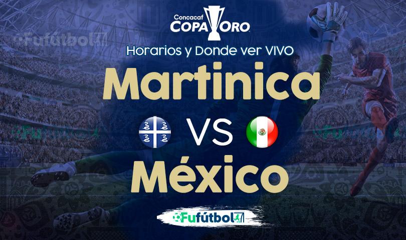 Martinica vs México en VIVO
