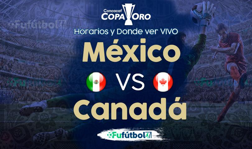 México vs Canadá en VIVO