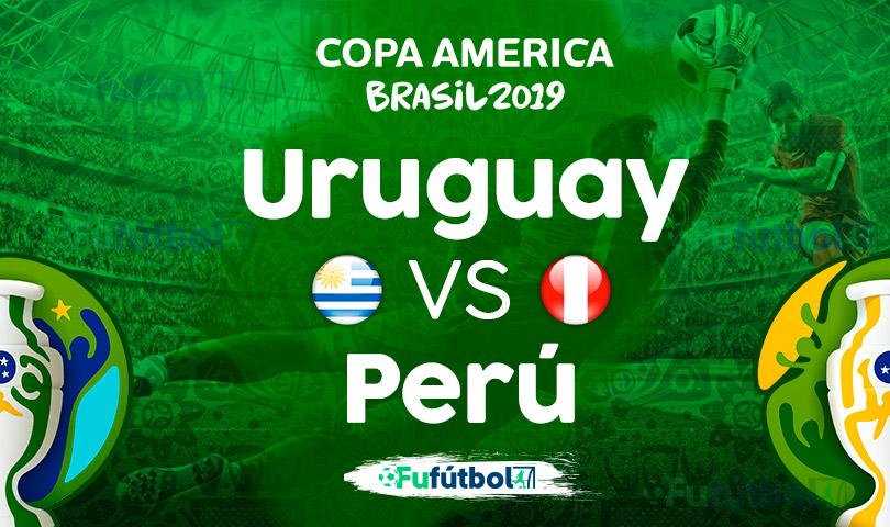 Uruguay vs Perú en VIVO Copa América