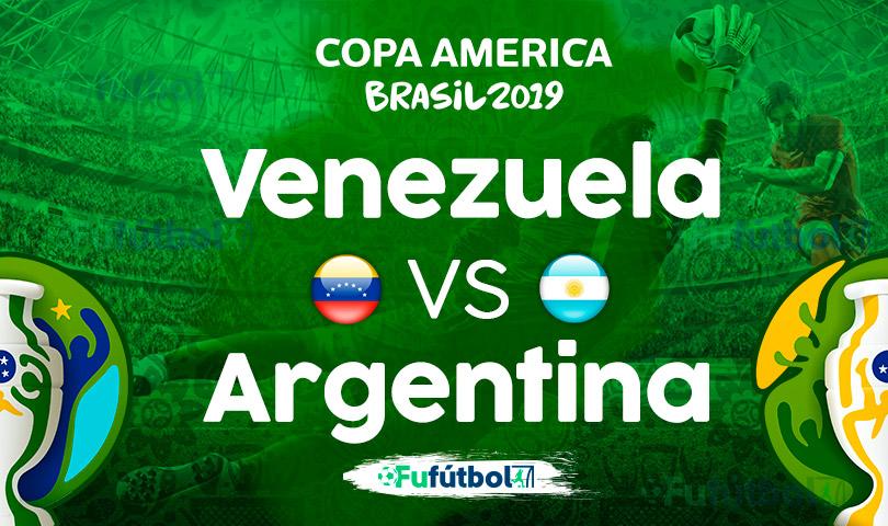 Venezuela vs Argentina en VIVO