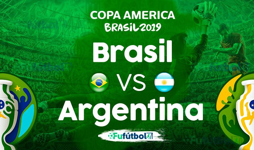 Brasil vs Argentina en VIVO Copa América
