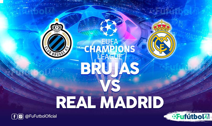 Brujas vs Real Madrid en VIVO y en DIRECTO