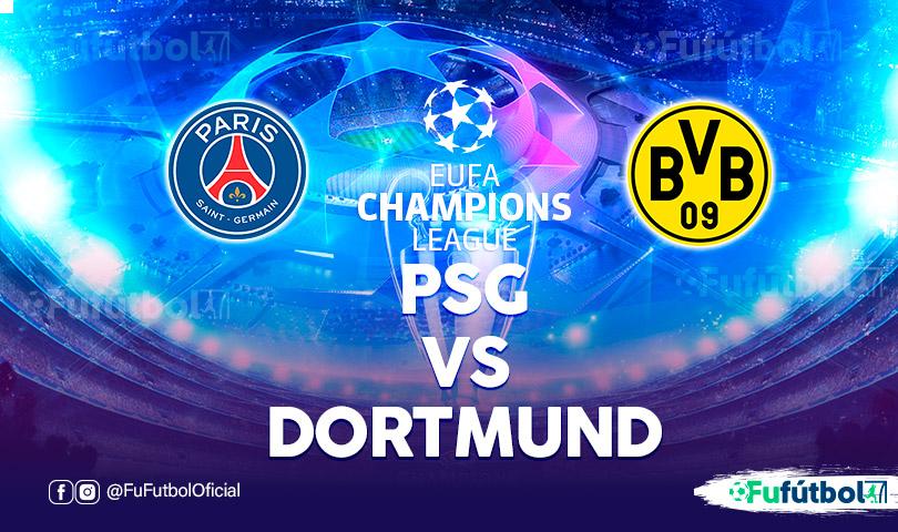 PSG vs Dortmund en VIVO y en DIRECTO Champions League