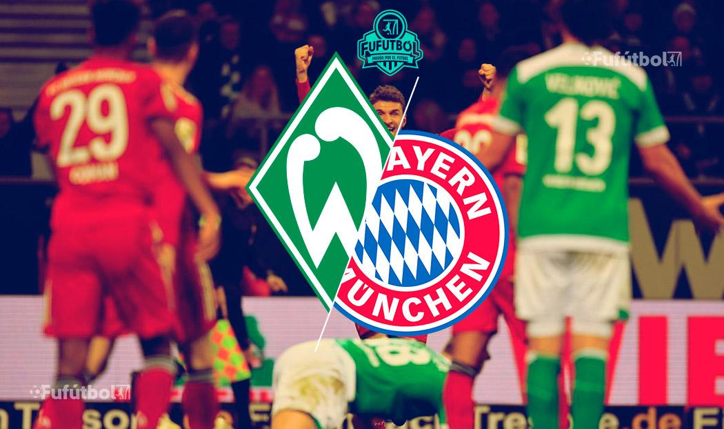 Bayern Múnich vs Werder Bremen en VIVO y en DIRECTO la Bundesliga