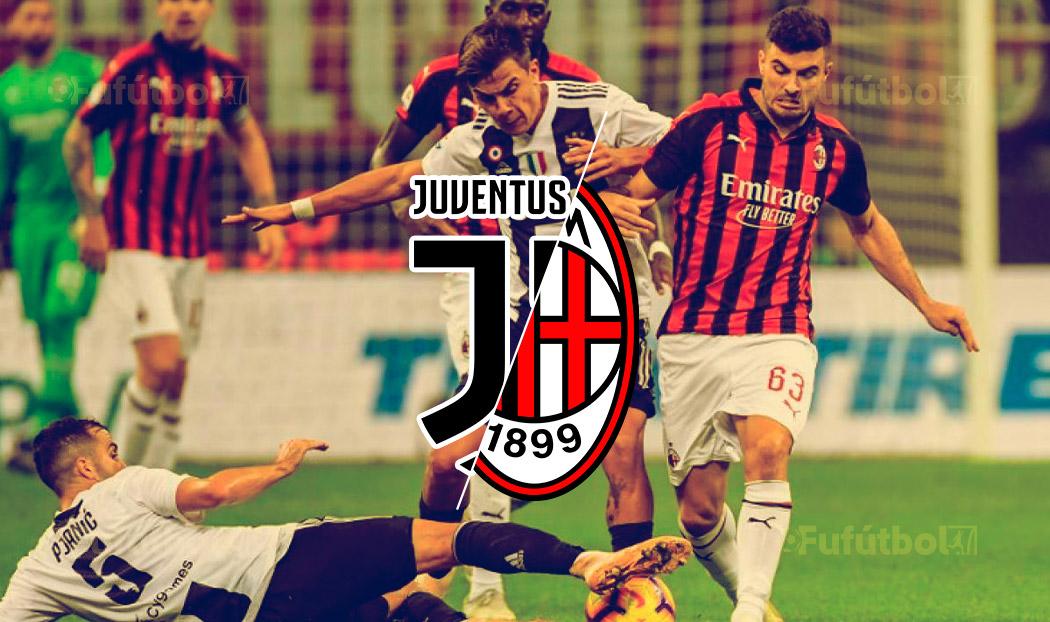 ver Juventus vs Milan en VIVO y en DIRECTO Online por internet