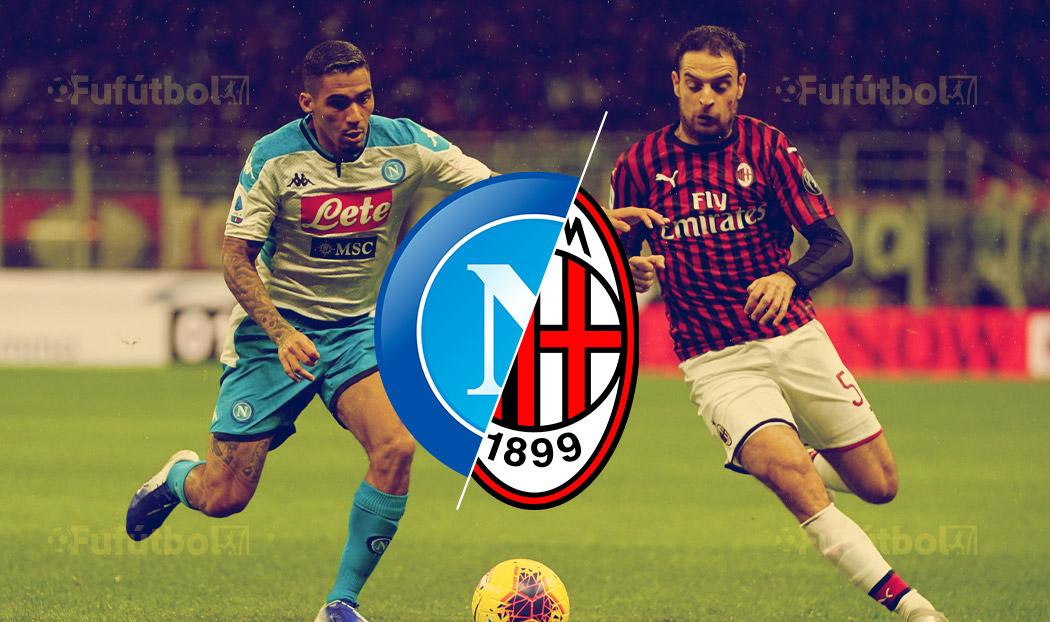 Ver Napoli vs Milan en EN VIVO y EN DIRECTO ONLINE por Internet