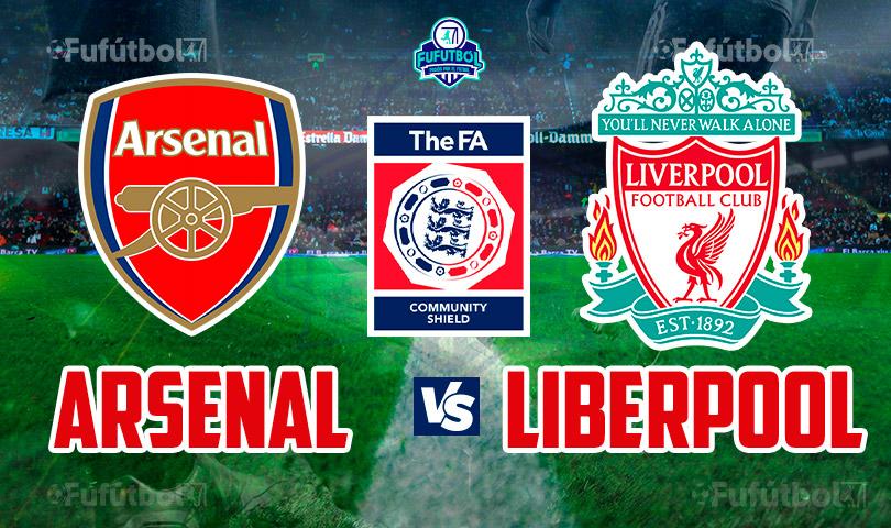 Arsenal vs Liverpool en VIVO y en DIRECTO ONLINE Final Community Shield