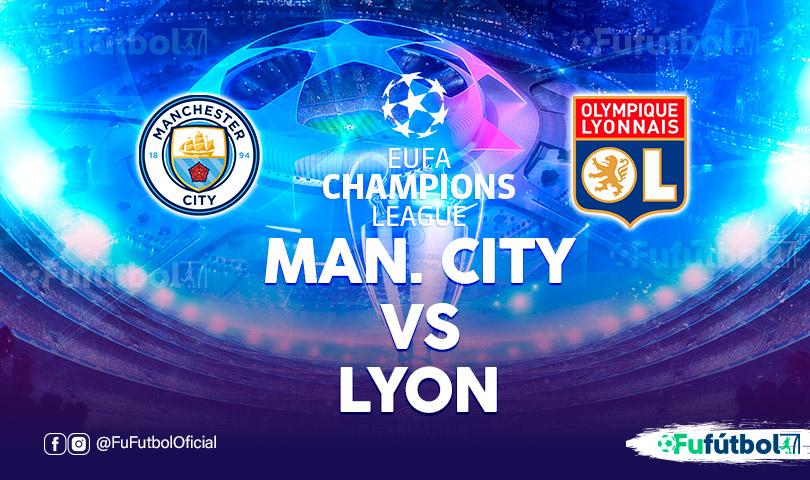 Manchester City vs Lyon en EN VIVO y EN DIRECTO ONLINE por internet