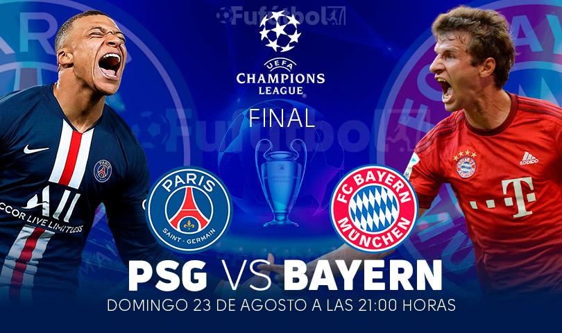 PSG vs Bayern en VIVO FINAL