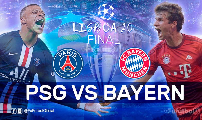 PSG vs Bayern en VIVO FINAL de la Champions League