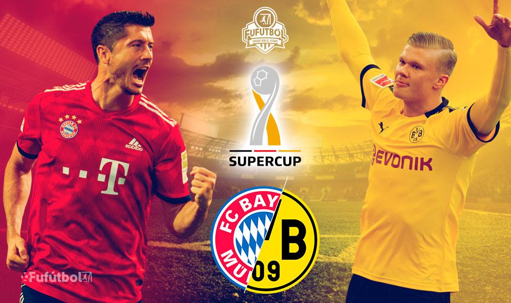Bayern Múnich vs Dortmund en VIVO la Supercopa de Alemania