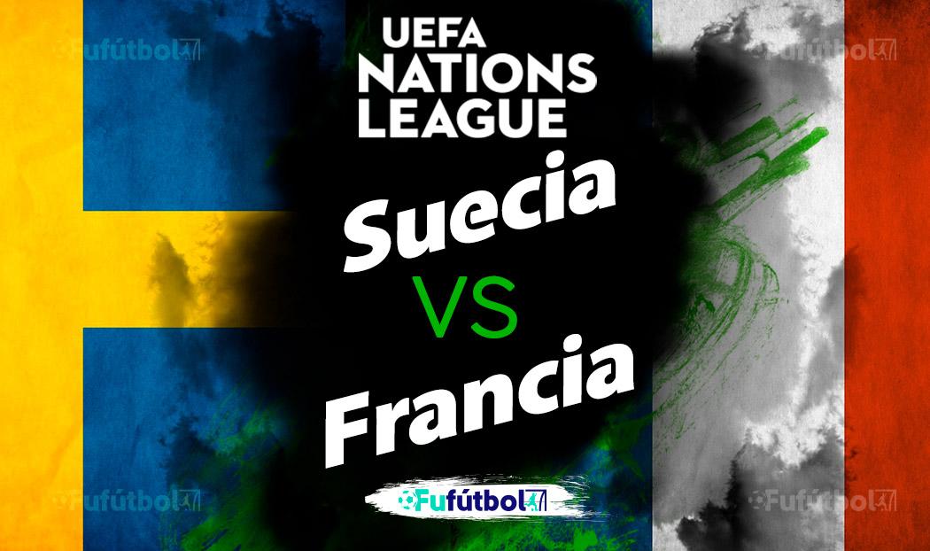 Suecia vs Francia en VIVO y en DIRECTO Liga de Naciones