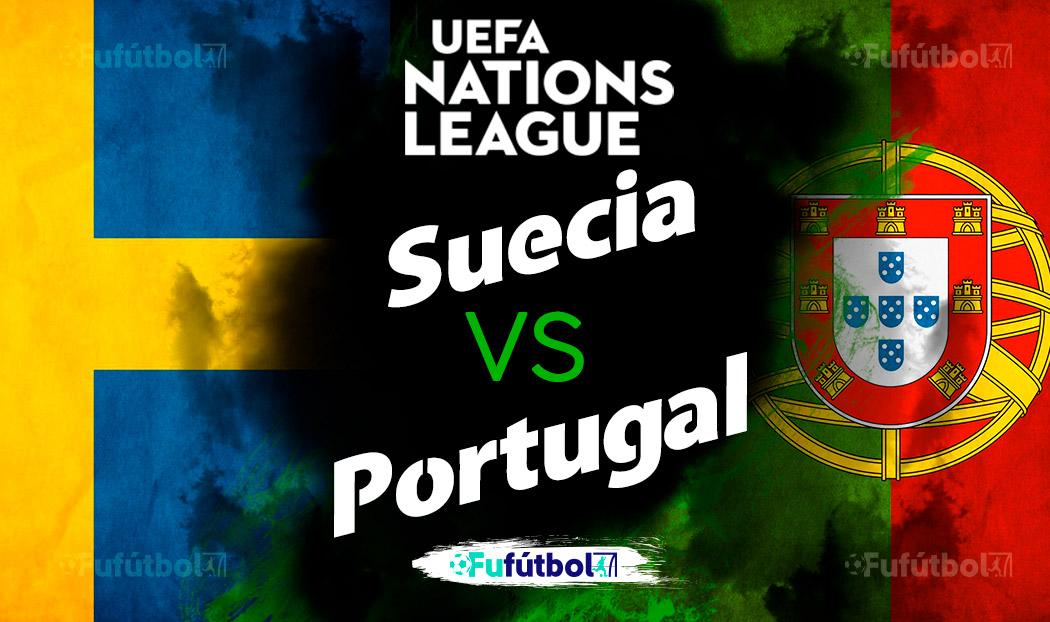 Suecia vs Portugal en VIVO y en DIRECTO Liga de Naciones
