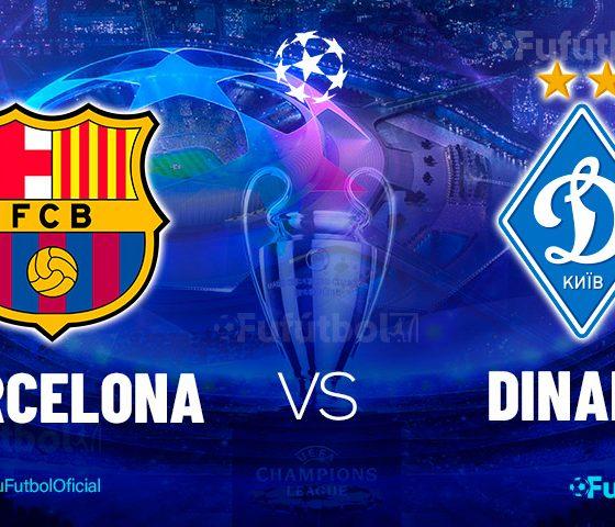 Ver Barcelona vs Dinamo en EN VIVO y EN DIRECTO ONLINE por internet