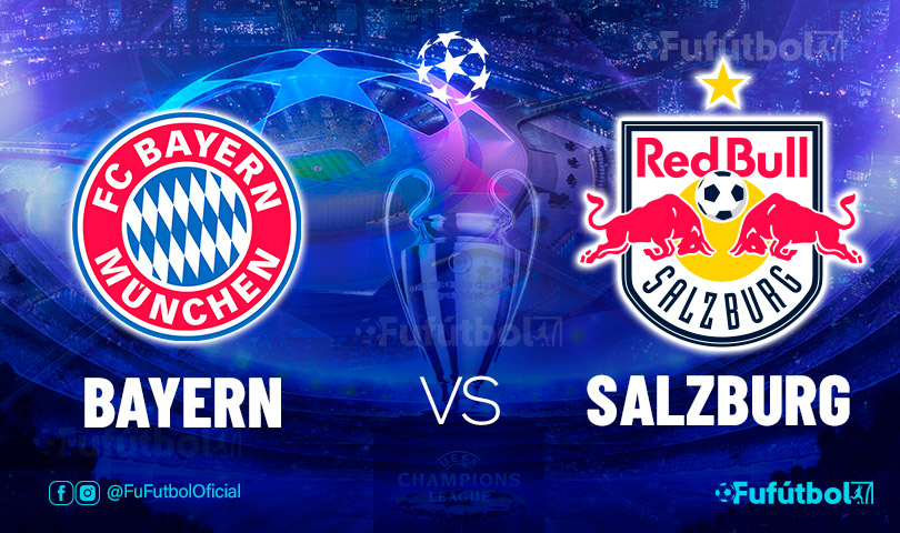 Ver Bayern vs Salzburg en EN VIVO y EN DIRECTO ONLINE por internet