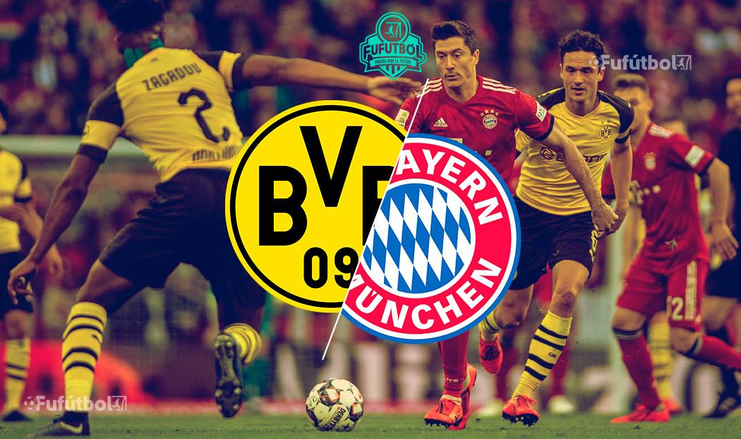 Dortmund vs Bayern Múnich en VIVO y en DIRECTO la Bundesliga