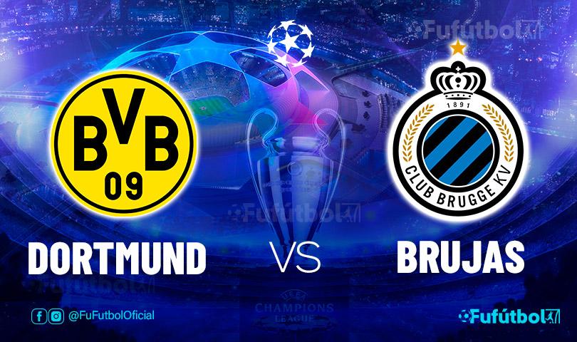 Ver Dortmund vs Brujas en EN VIVO y EN DIRECTO ONLINE por internet
