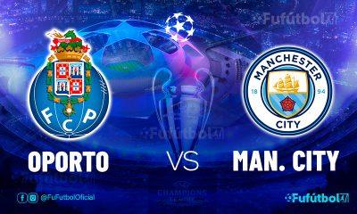 Ver Oporto vs Manchester City en EN VIVO y EN DIRECTO ONLINE por internet