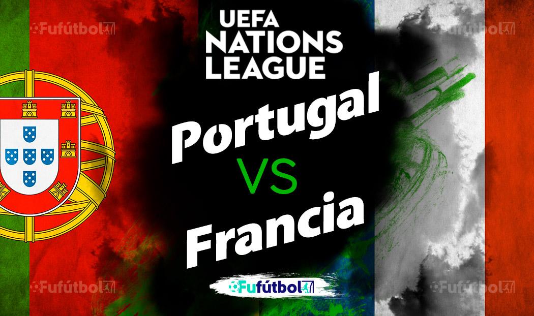 Ver Portugal vs Francia en EN VIVO y EN DIRECTO ONLINE por internet