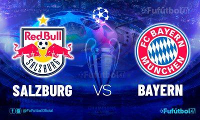 Ver Salzburg vs Bayern en EN VIVO y EN DIRECTO ONLINE por internet