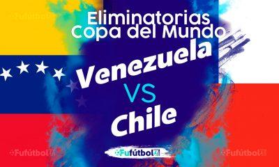 Ver Venezuela vs Chile en EN VIVO y EN DIRECTO ONLINE por internet