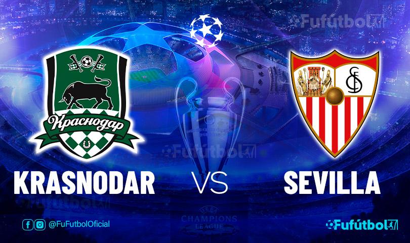 Ver Krasnodar vs Sevilla en EN VIVO y EN DIRECTO ONLINE por internet