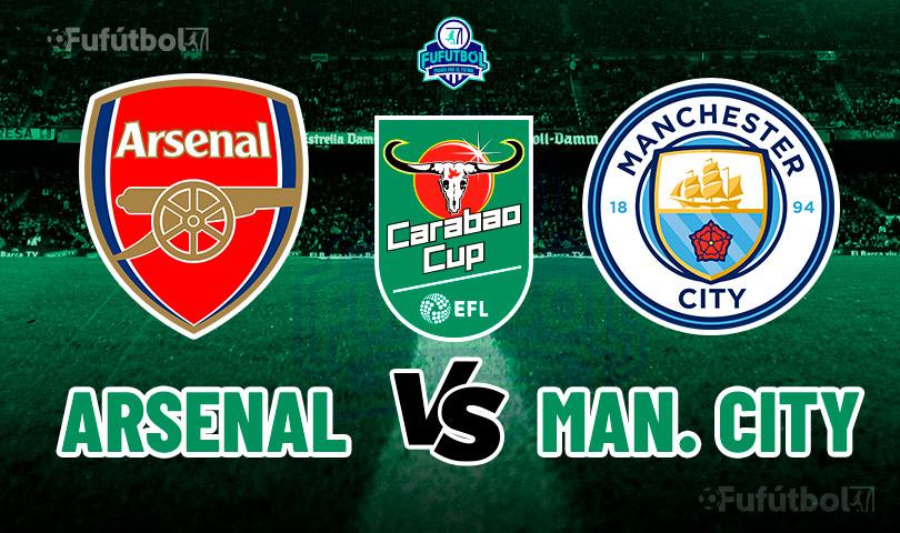 Ver Arsenal vs Manchester City en VIVO y en DIRECTO ONLINE por Internet