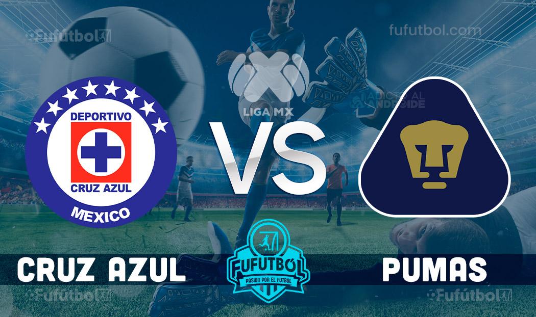 Ver Cruz Azul vs Pumas en EN VIVO y EN DIRECTO ONLINE por internet