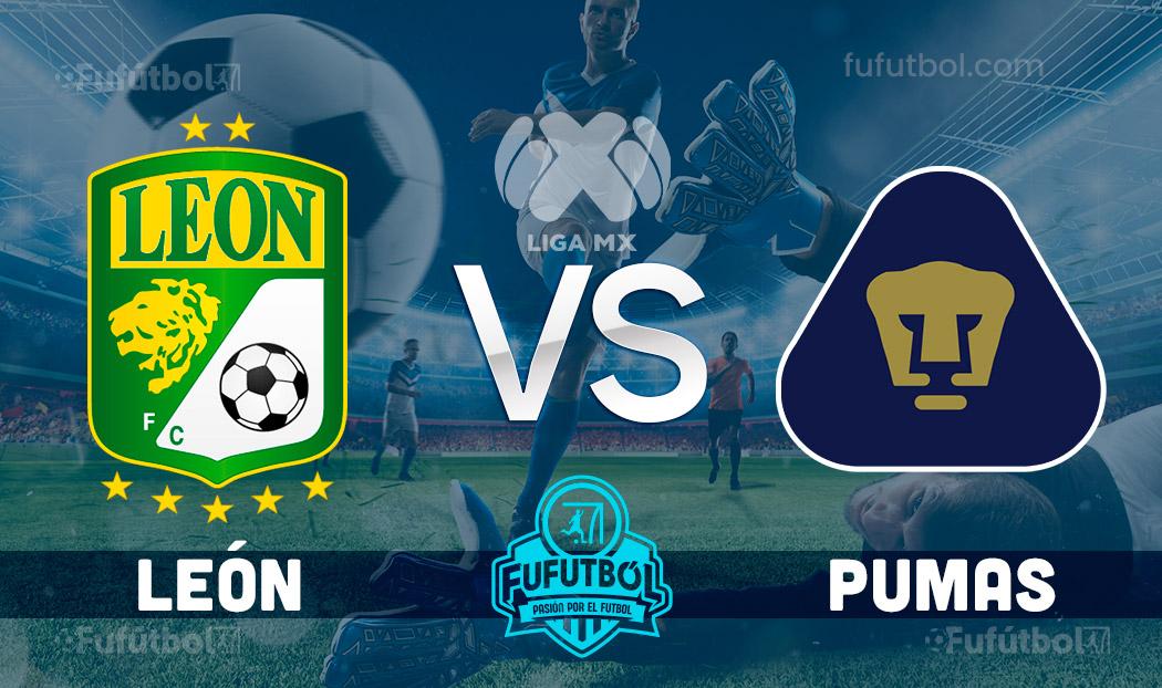 Ver León vs Pumas en EN VIVO y EN DIRECTO ONLINE por internet