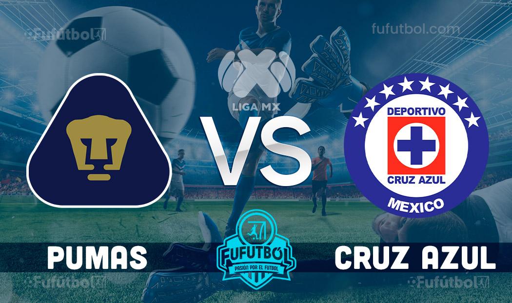 Ver Pumas vs Cruz Azul en EN VIVO y EN DIRECTO ONLINE por internet