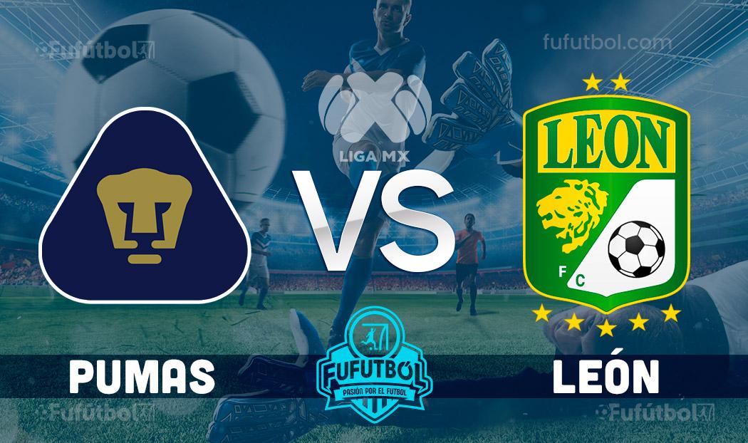 Ver Pumas vs León en EN VIVO y EN DIRECTO ONLINE por internet