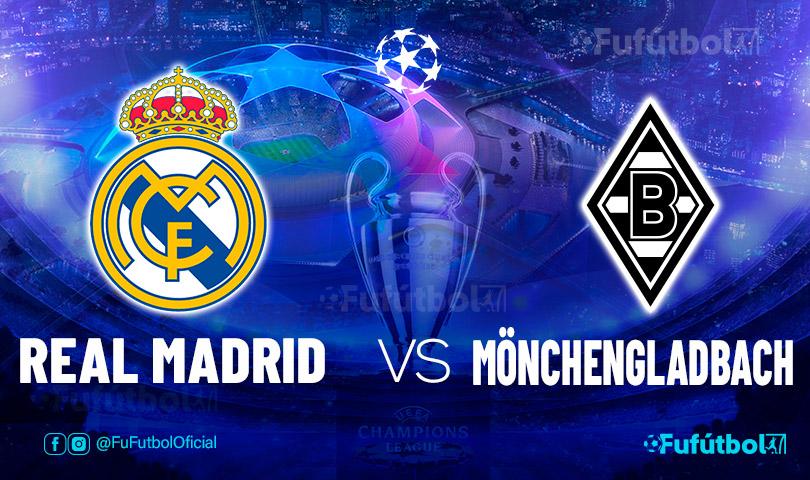 Ver Real Madridvs Mönchengladbach en EN VIVO y EN DIRECTO ONLINE por internet