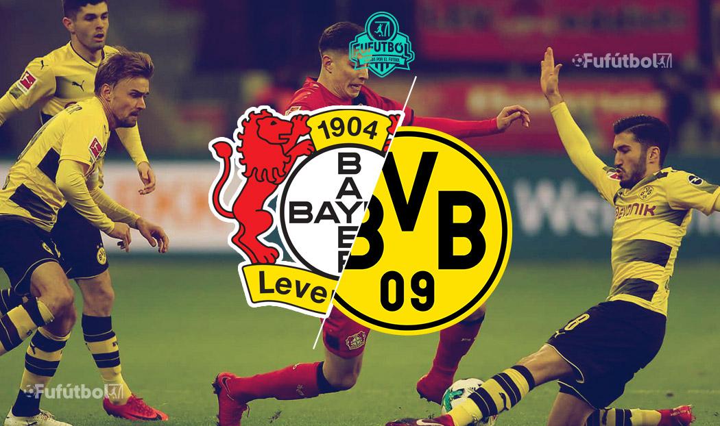 Leverkusen vs Dortmund en en VIVO Online y en DIRECTO la Bundesliga