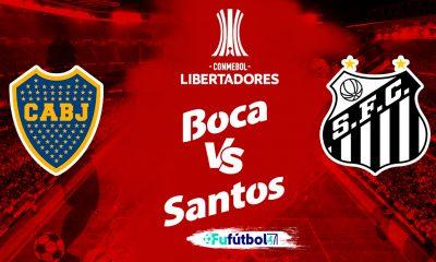 Ver Boca Juniors vs Santos en EN VIVO y EN DIRECTO ONLINE por Internet