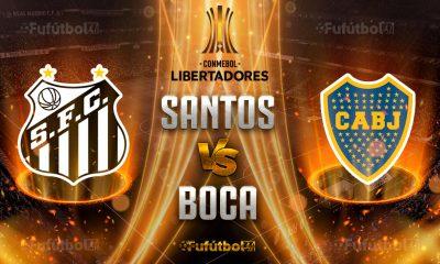 Ver Santos vs Boca Juniors en EN VIVO y EN DIRECTO ONLINE por Internet