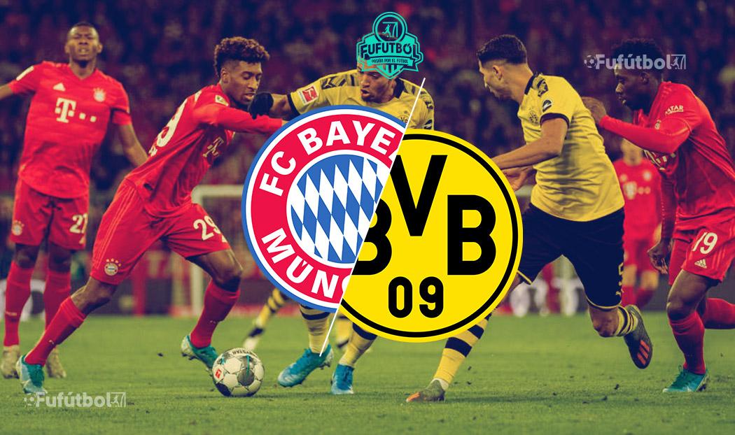 Ver Bayern vs Dortmund EN VIVO ONLINE y EN DIRECTO por internet