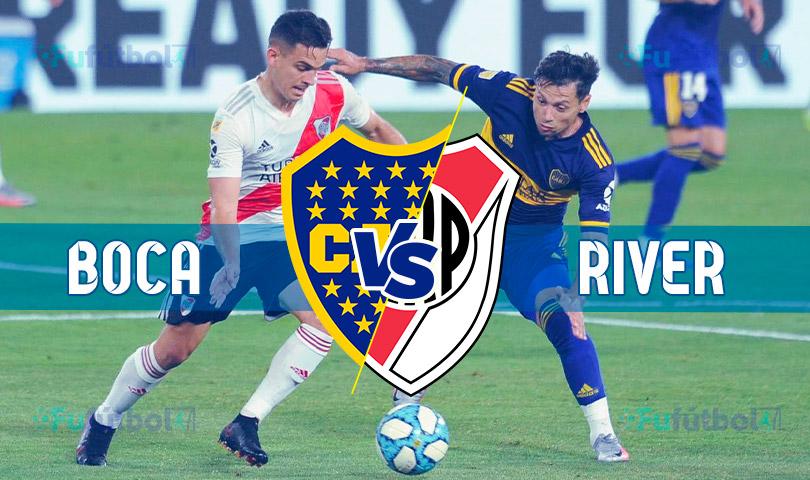 Ver Boca Juniors vs River Plate en EN VIVO y EN DIRECTO ONLINE por internet