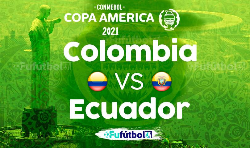 Ver Colombia vs Ecuador en EN VIVO y EN DIRECTO ONLINE por internet