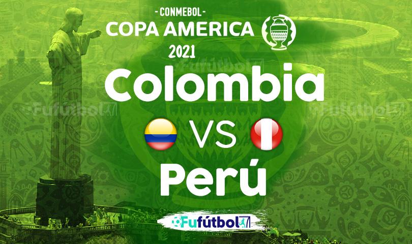 Ver Colombia vs Perú en EN VIVO y EN DIRECTO ONLINE por internet