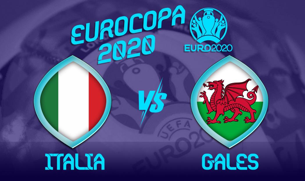 Ver Italia vs Gales en EN VIVO y EN DIRECTO ONLINE por internet