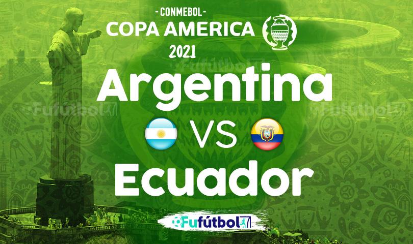 Ver Argentina vs Ecuador en EN VIVO y EN DIRECTO ONLINE por internet