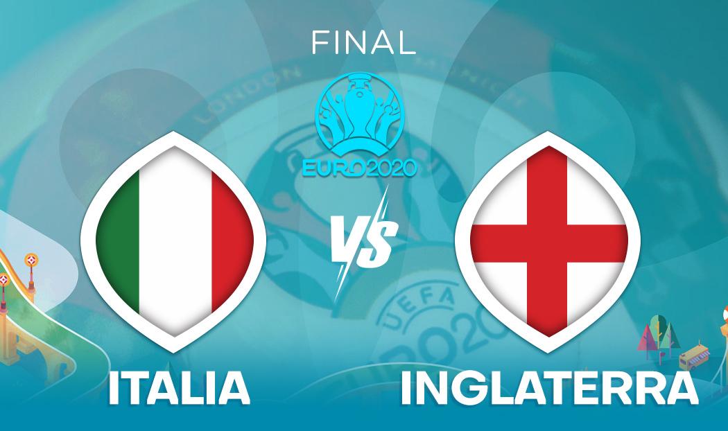 Ver Italia vs Inglaterra en EN VIVO y EN DIRECTO ONLINE por internet