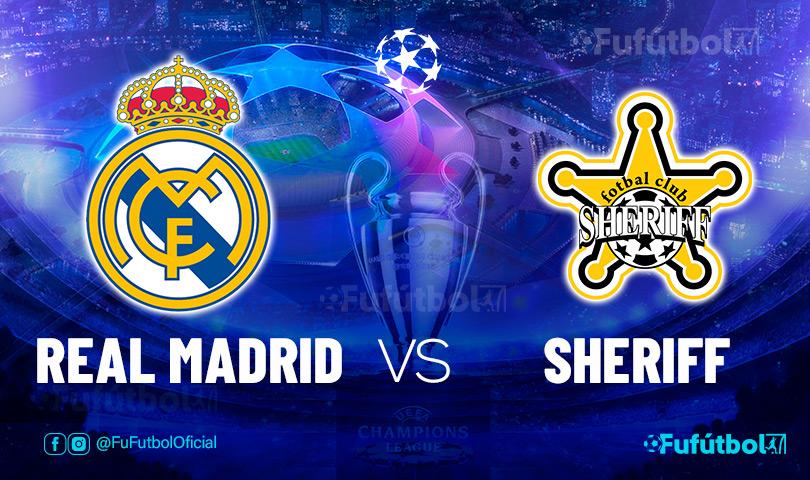 Ver Real Madrid vs Sheriff en EN VIVO y EN DIRECTO ONLINE por internet